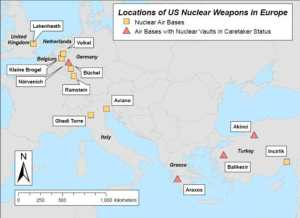 Tac-nukes are believed to be in only 6 of these locations